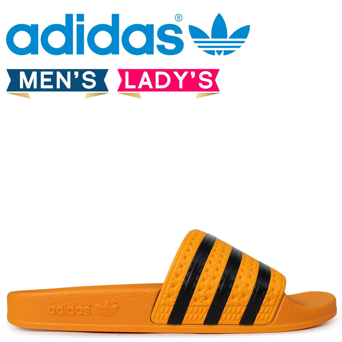 b3986b3cbc68 adidas Originals アディレッタアディダスサンダルシャワーサンダル ADILETTE men gap Dis CQ3099 gold  originals  load planned Shinnyu load in reservation product ...