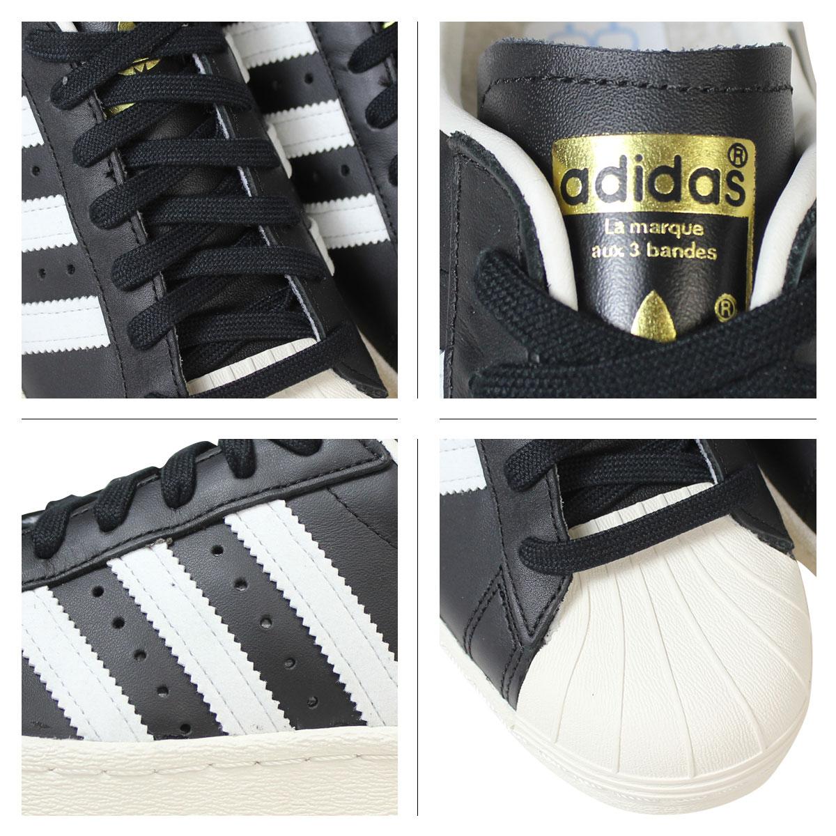 Adidas Originals Superstar 80s Shoes Black G61069
