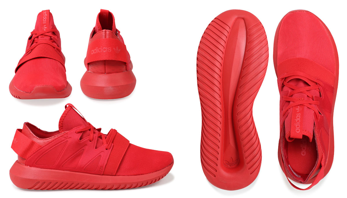 adidas red shoes. adidas originals sneakers womens tubular viral w s75913 shoes red