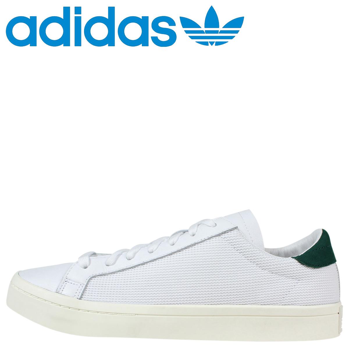adidas court vantage verdi e bianche