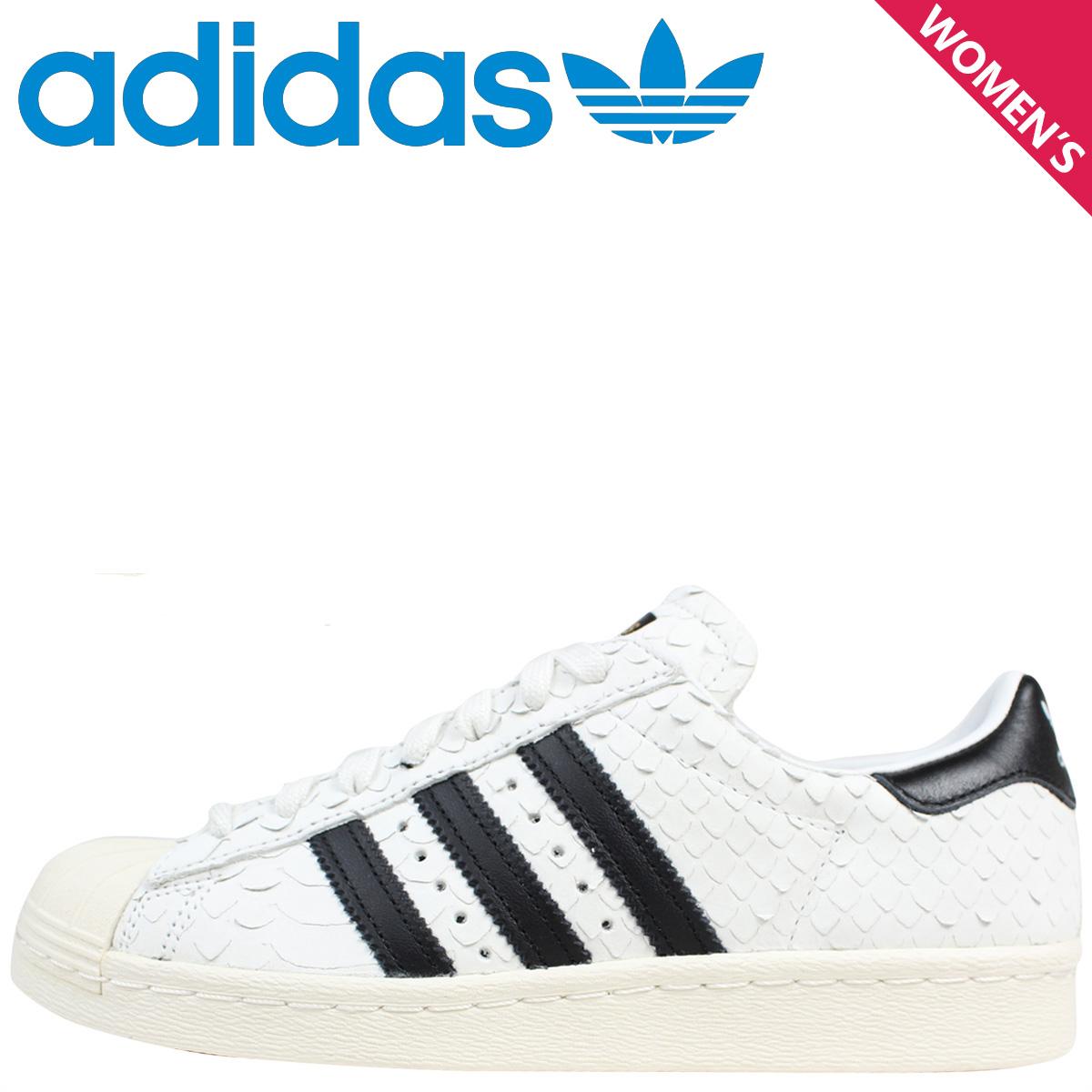 adidas Originals Adidas originals superstar sneakers Lady's SUPERSTAR 80S W S76414 shoes white white