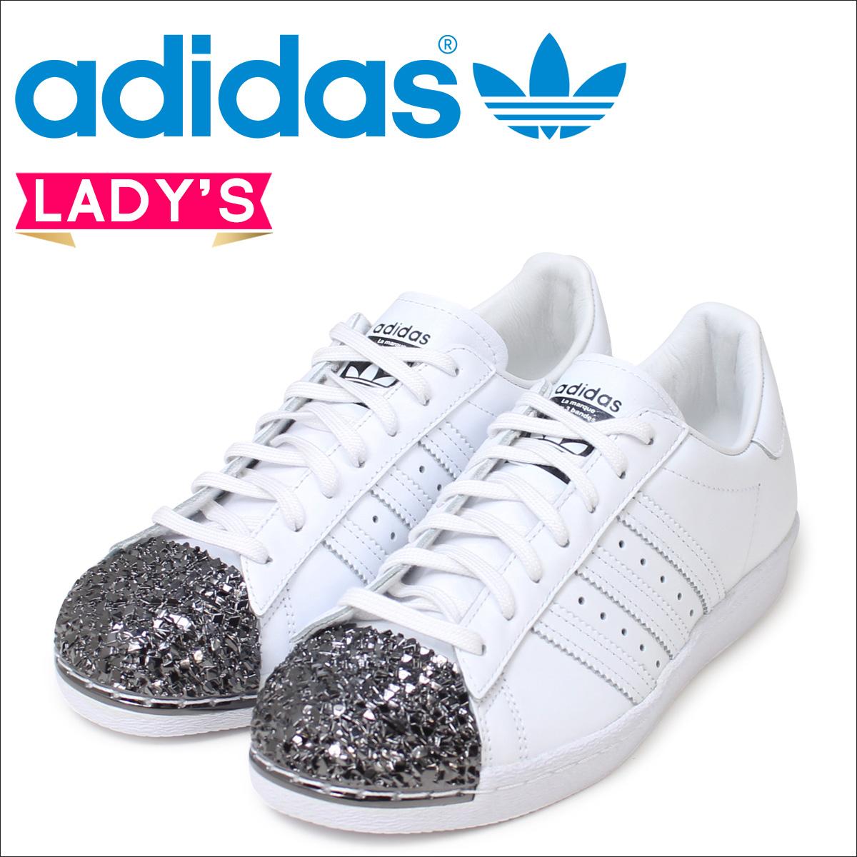 adidas originals superstar 80s womens white