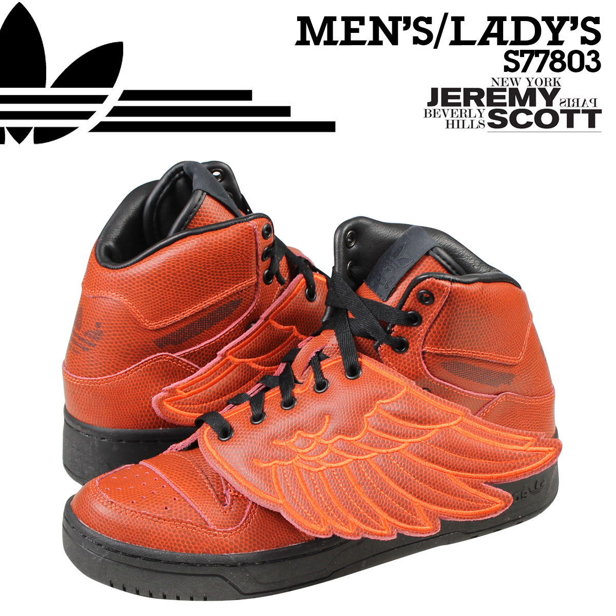 adidas Originals アディダス オリジナルス スニーカー ジェレミースコット JS WINGS 2.0 MESH S77803 メンズ レディース 靴 レッド