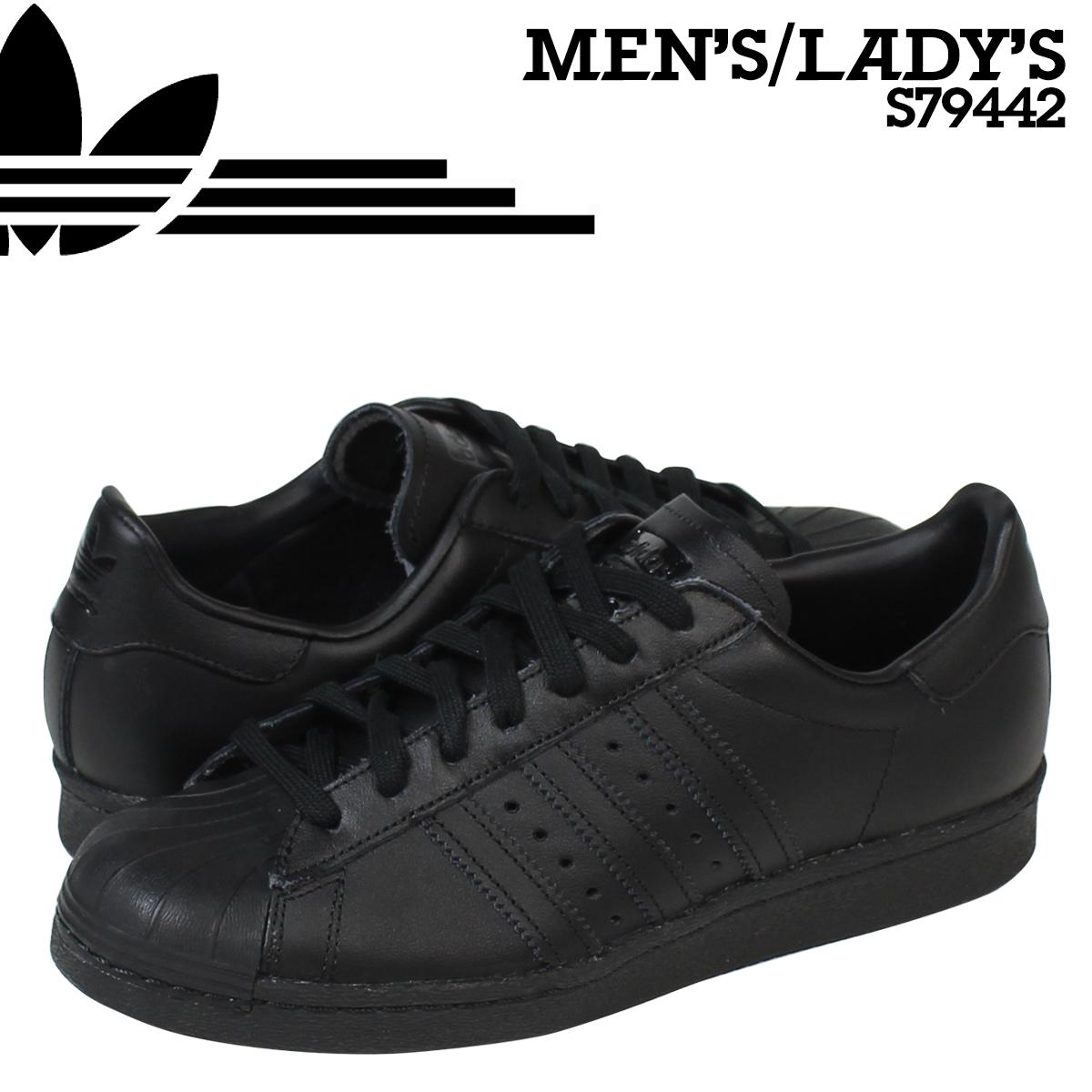 984a1ab7aa adidas Originals Adidas originals superstar triple toe eggplant knee car  SUPERSTAR 80s TRIPLE TONA S79442 men gap Dis shoes black black