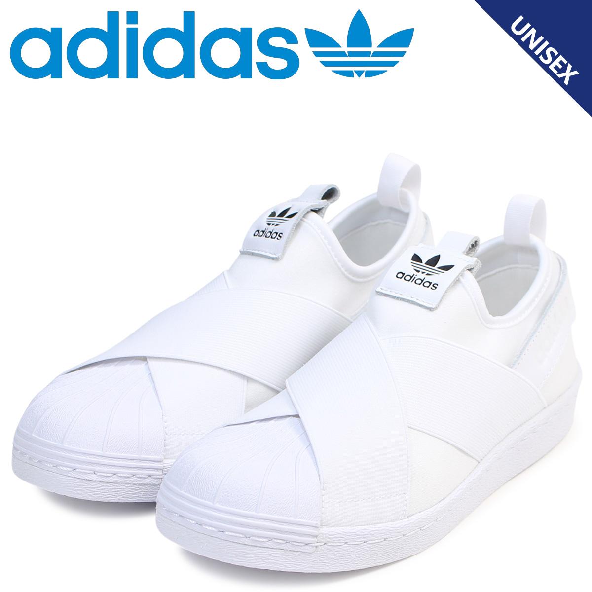 adidas Originals Adidas originals superstar slip ons sneakers men gap Dis SUPERSTAR SLIP ON W white white S81338 [the 821 additional arrival]