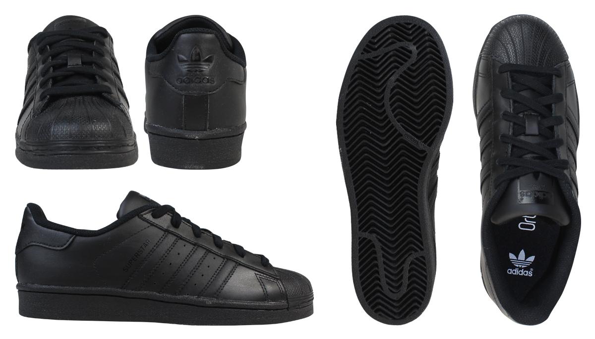 the best attitude 8d459 69e1d adidas Originals Adidas originals superstar sneakers Lady's SUPERSTAR  FOUNDATION J B25724 shoes black black
