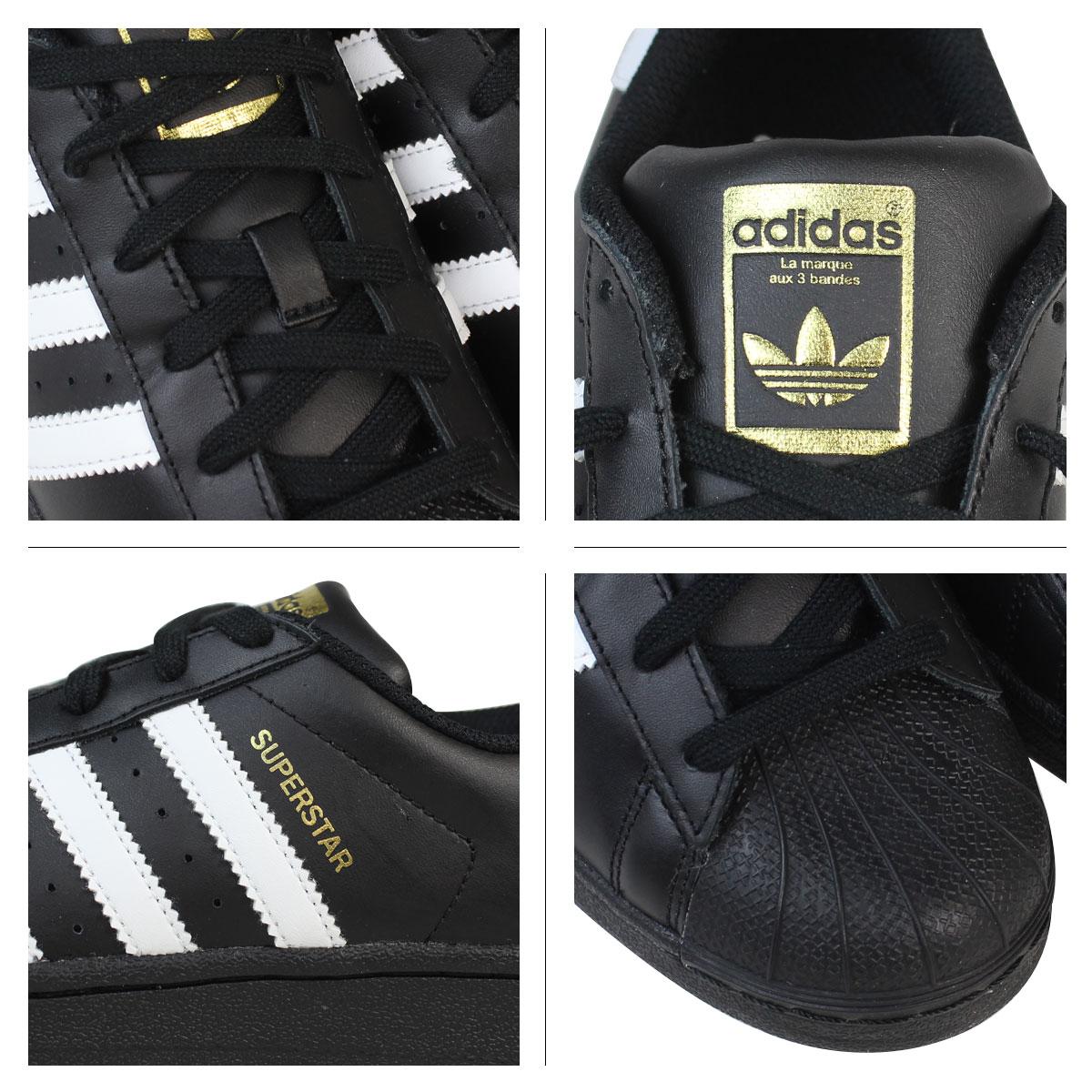 save off 4d1b7 04a22 Adidas originals adidas Originals Lady s SUPERSTAR FOUNDATION J sneakers  superstar foundation youth B23642 black