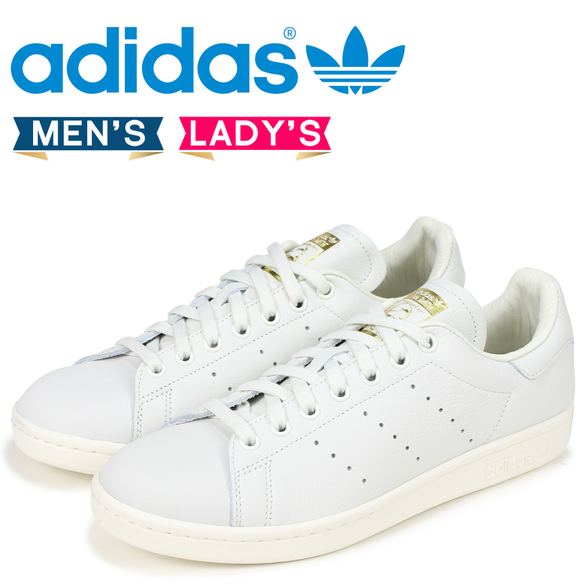 368f751e4e95 adidas Originals Stan Smith Adidas originals sneakers men gap Dis STAN SMITH  PREMIUM B37900 white  load planned Shinnyu load in reservation product 8 14  ...