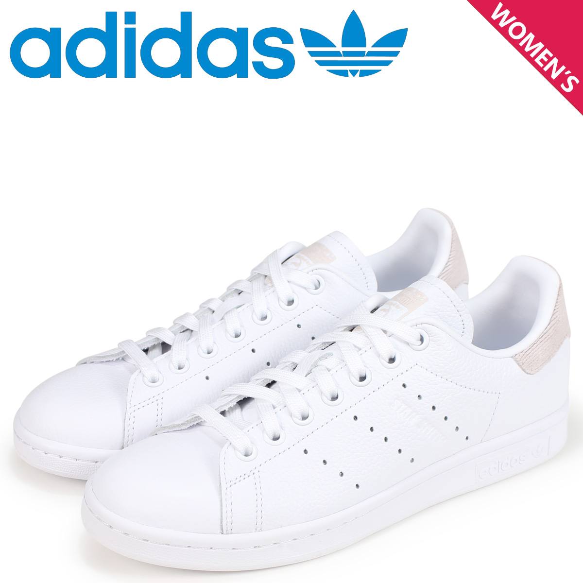 f16cf8a421 adidas Originals Stan Smith Adidas originals Lady's sneakers STAN SMITH W  B41625 white white ...
