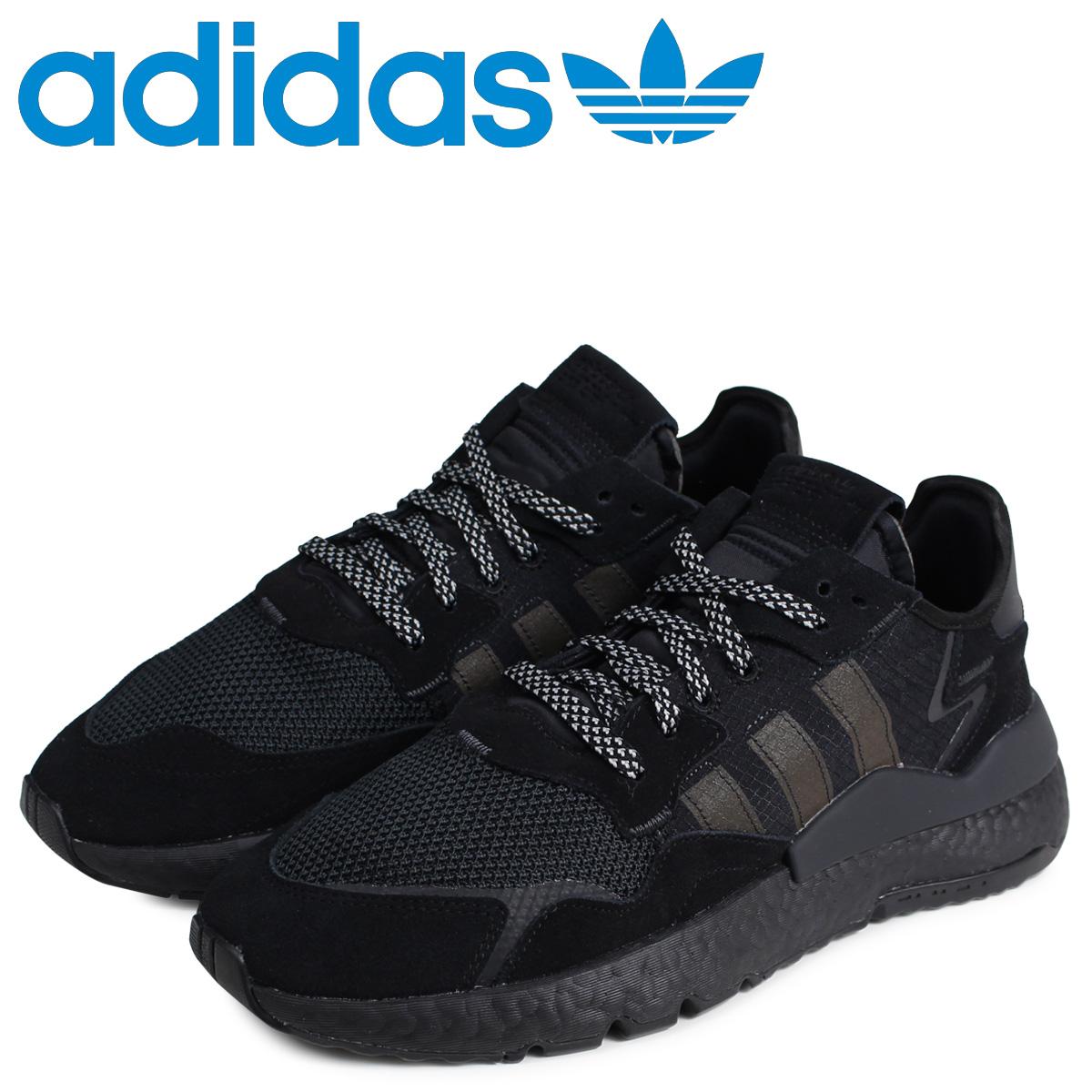 adidas Originals アディダス オリジナルス ナイトジョガー スニーカー メンズ NITE JOGGER ブラック 黒 BD7954