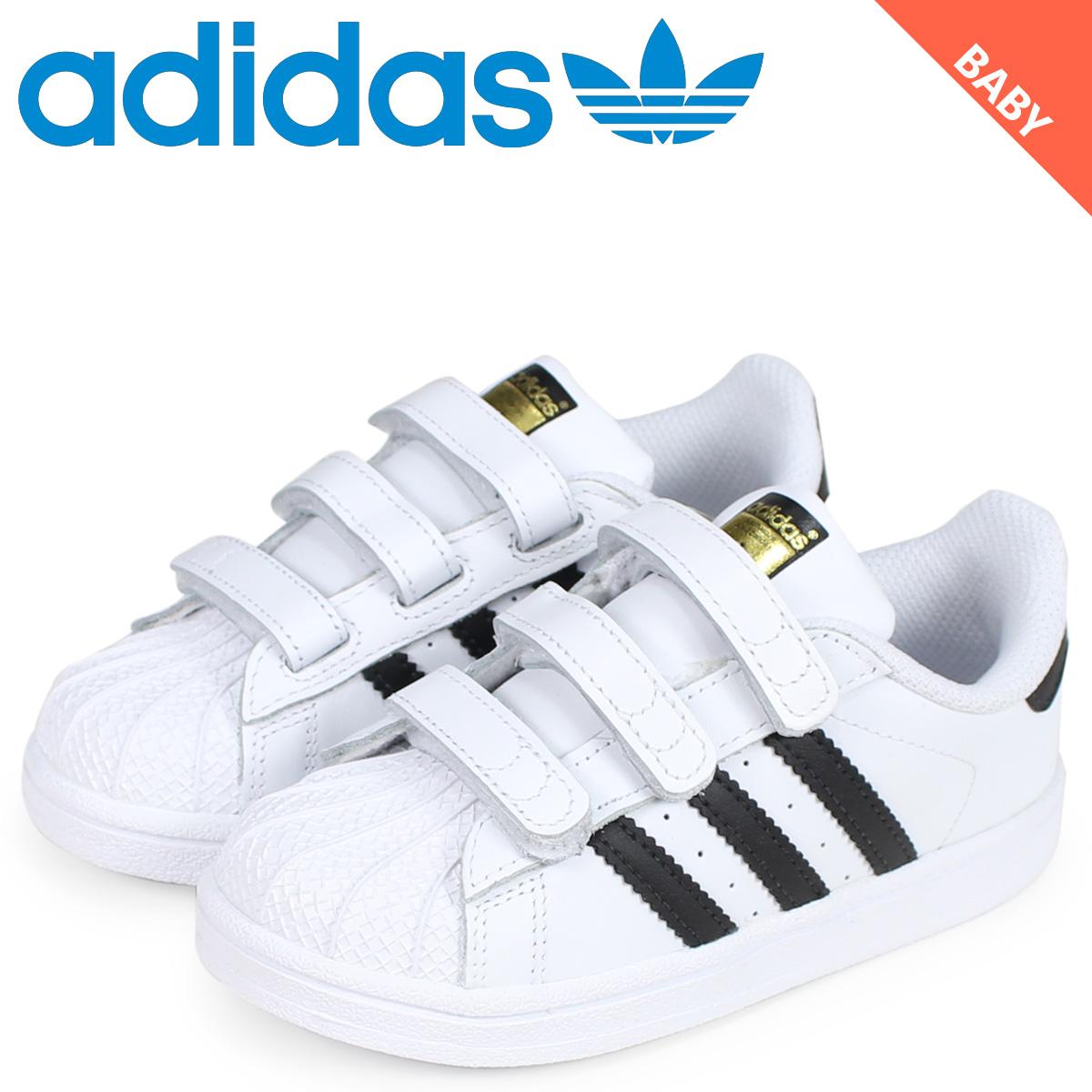 new style c7989 e91ad adidas Originals Adidas originals superstar sneakers Baby Bell black  SUPERSTAR CF I white white BZ0418