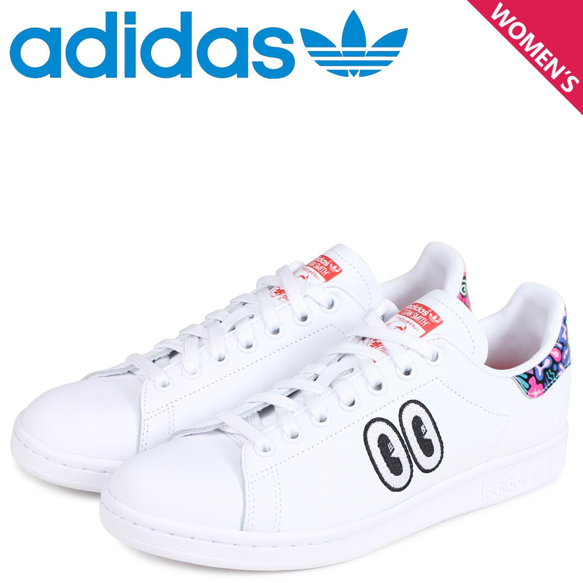 adidas Originals アディダス オリジナルス スタンスミス スニーカー レディース STAN SMITH コラボ ホワイト 白 CM8417 [3/26 新入荷]