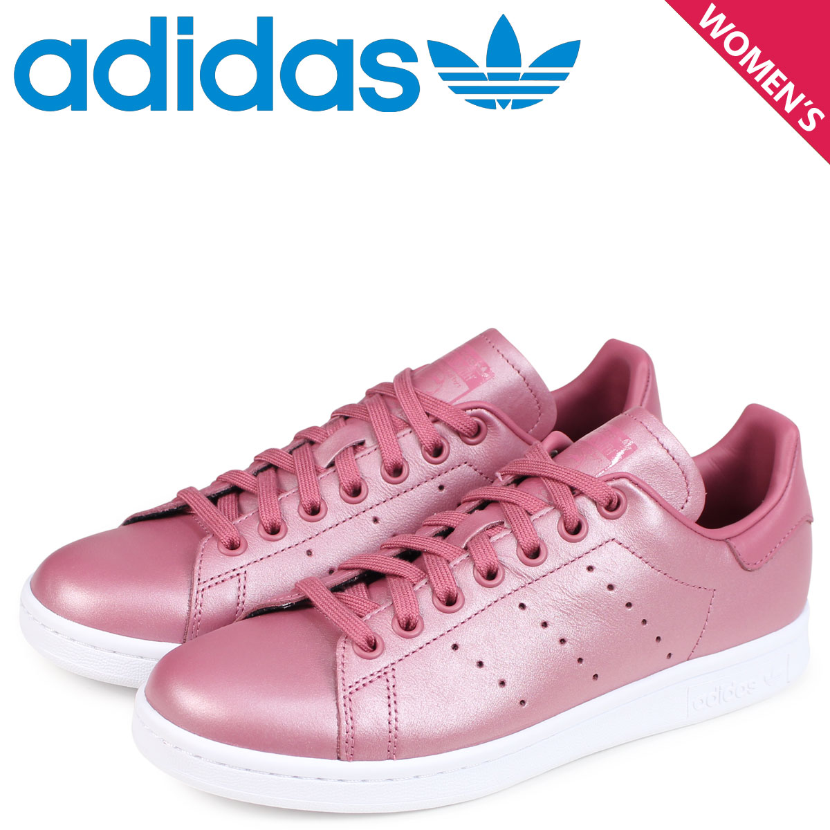 later great quality outlet store sale adidas Originals Stan Smith Adidas originals Lady's sneakers STAN SMITH W  CM8603 pink