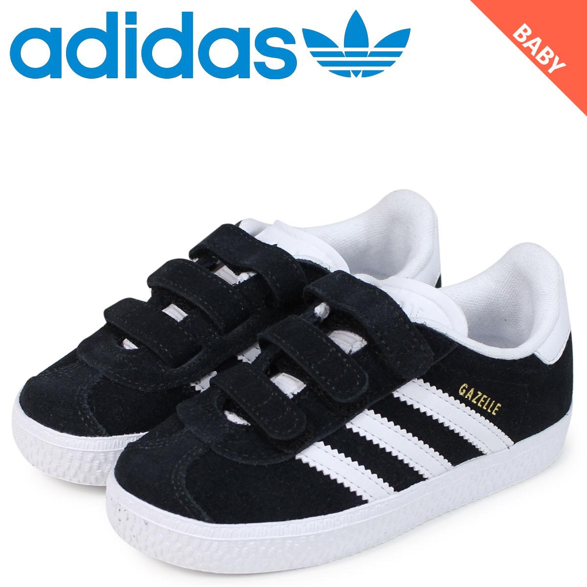 watch b8d01 32cf8 adidas Originals Adidas originals gazelle sneakers baby gut label black  GAZELLE CF I black CG3139 load planned Shinnyu load in reservation product  125 ...