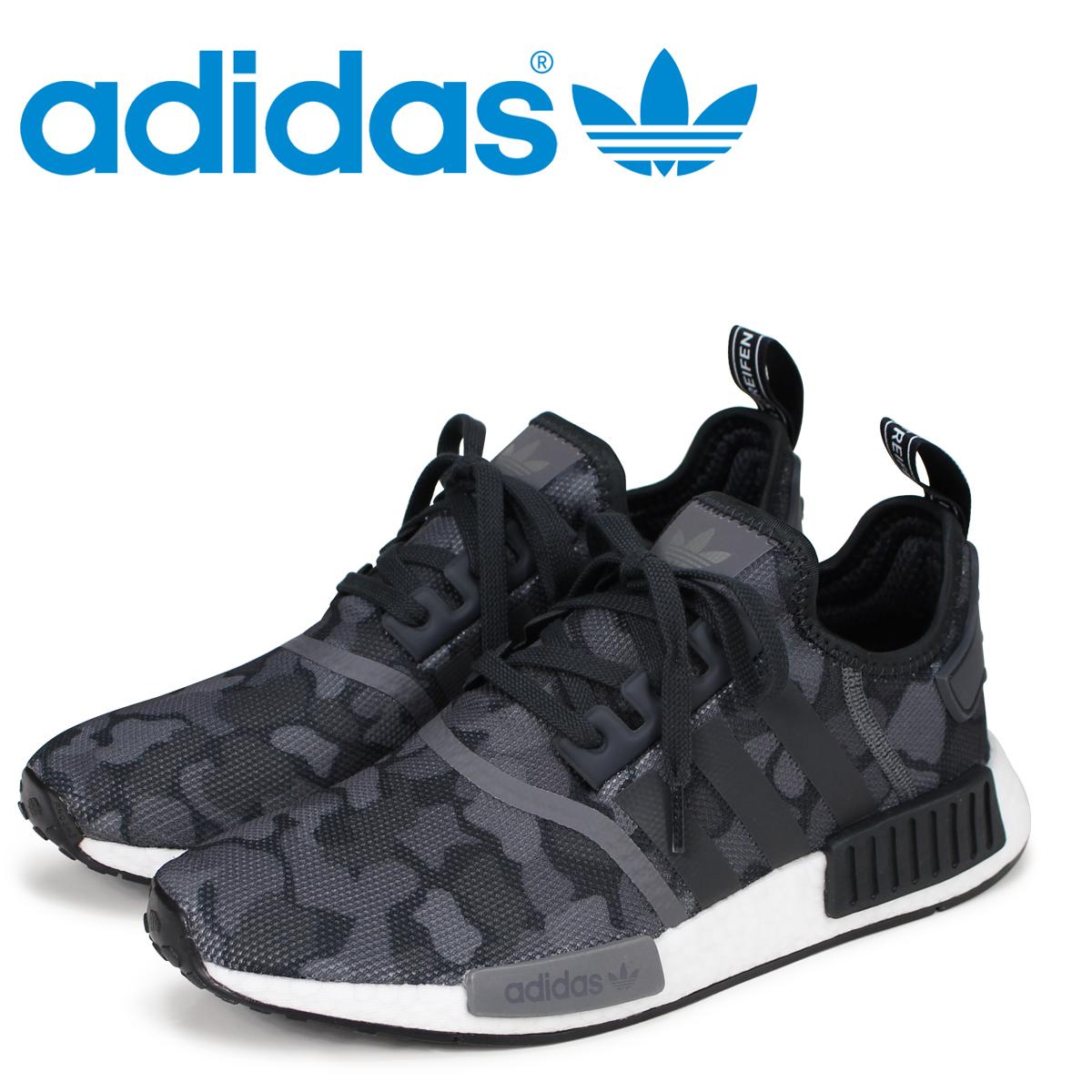 1fe7ab62b6 adidas Originals NMD R1 Adidas originals sneakers N M D nomad men D96616  black black
