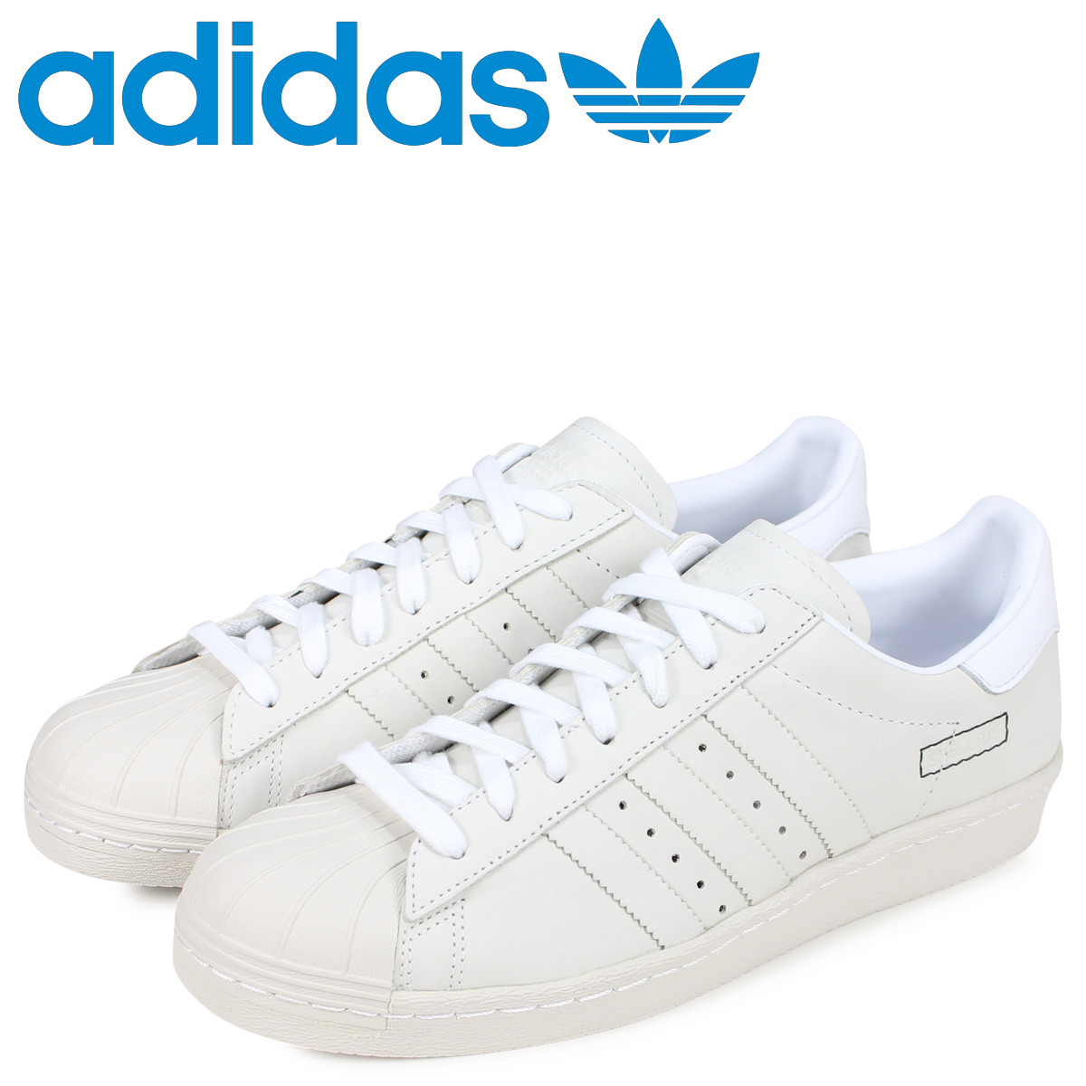 adidas Originals アディダス オリジナルス スーパースター スニーカー メンズ SUPERSTAR 80s ホワイト 白 DB2685 [3/5 新入荷]