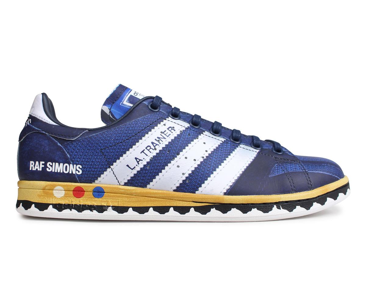 adidas Originals Adidas originals rough Simmons RAF SIMONS LA Stan sneakers Los Angeles trainer men RS LA STAN TRAINER collaboration navy EE7951