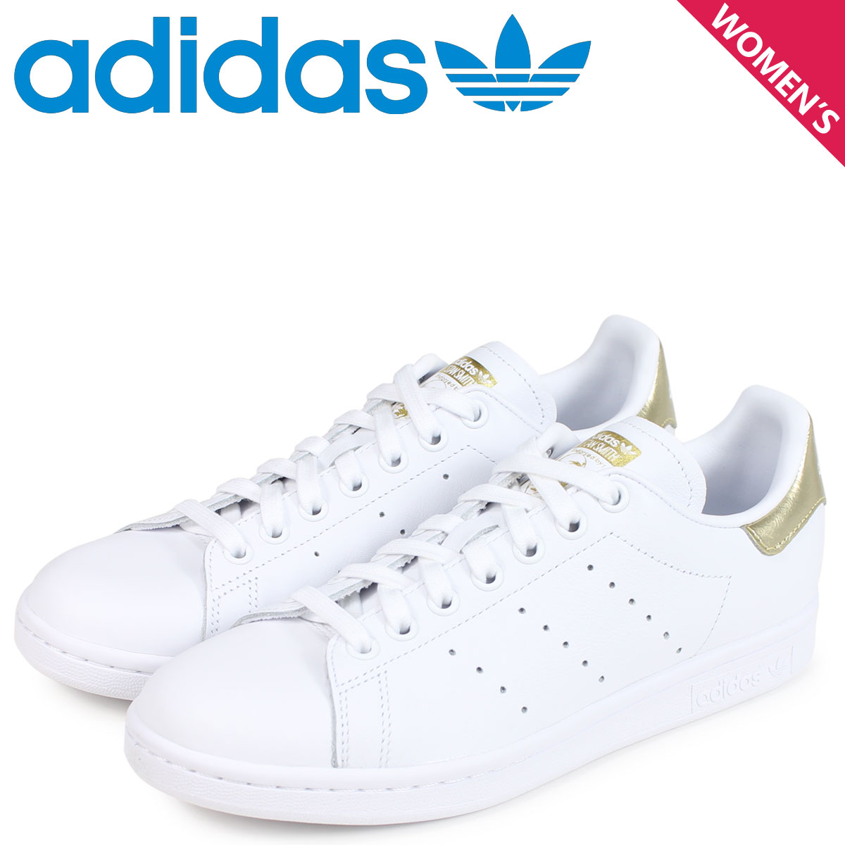 adidas Originals アディダス オリジナルス スタンスミス スニーカー レディース STAN SMITH W ホワイト 白 EE8836