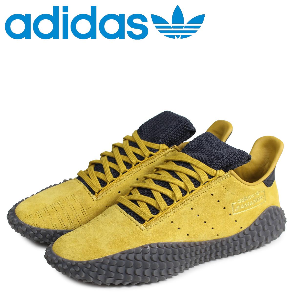 adidas Originals アディダス オリジナルス カマンダ スニーカー メンズ KAMANDA イエロー G27712