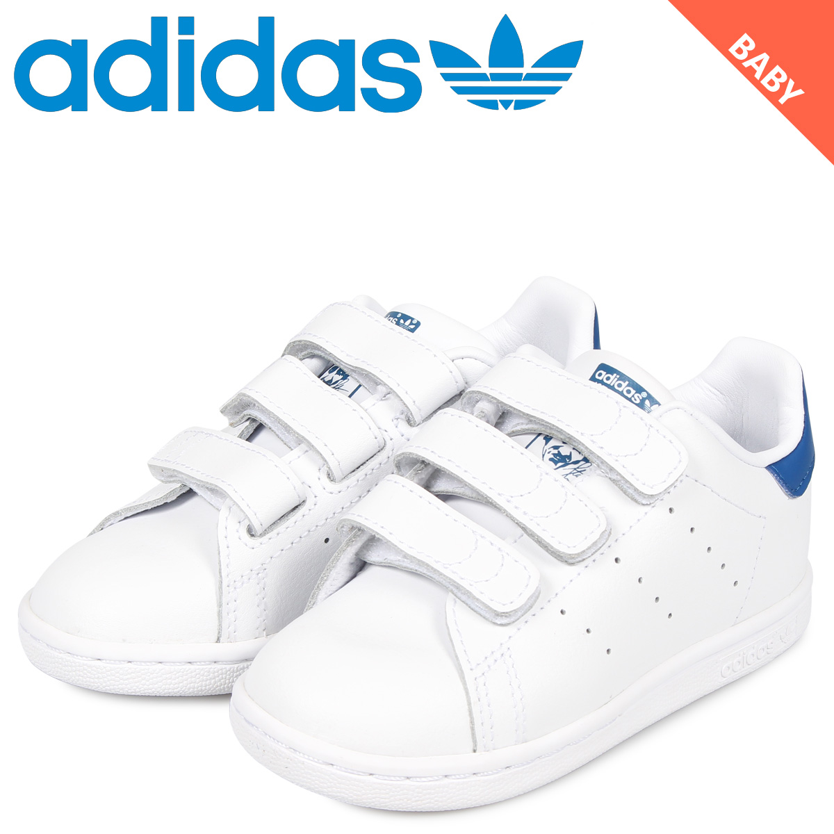 adidas Originals Adidas originals Stan Smith sneakers baby kids STAN SMITH CF I white white S74782