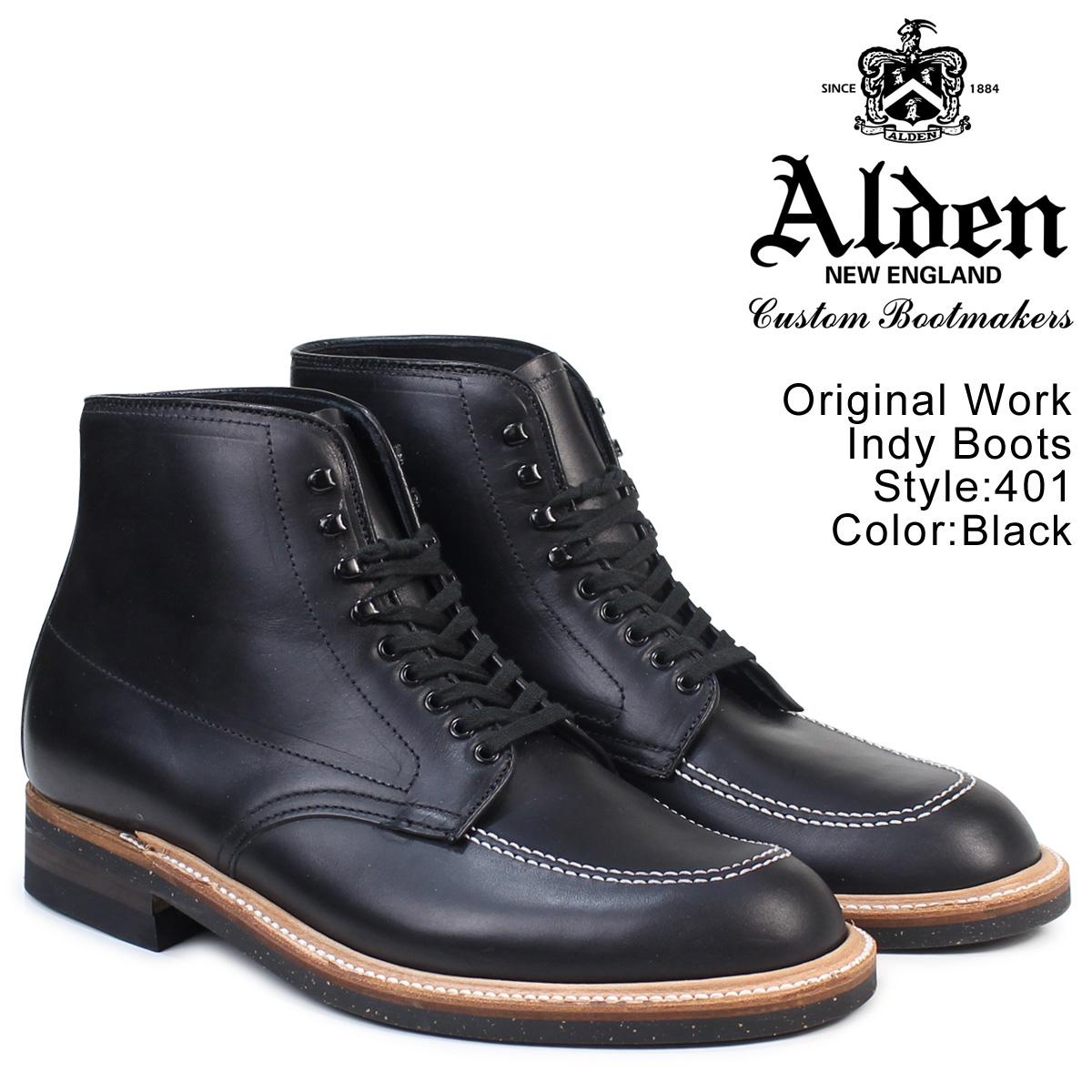 オールデン ALDEN インディー ブーツ メンズ ORIGINAL WORK INDY BOOTS Dワイズ 401