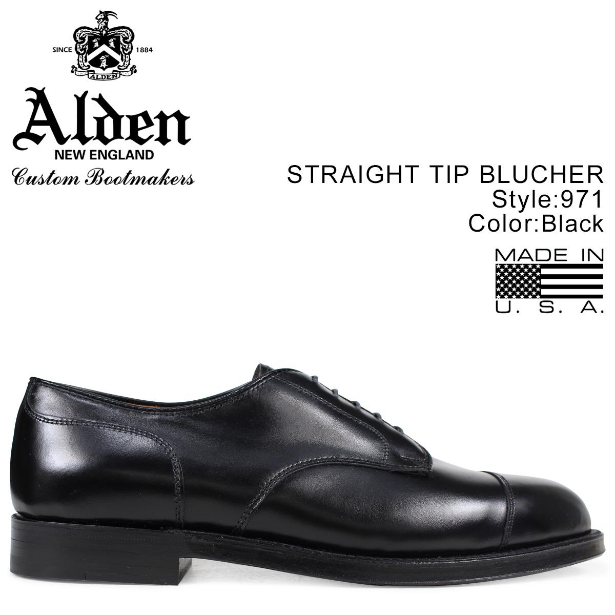 オールデン ALDEN シューズ メンズ STRAIGHT TIP BLUCHER Dワイズ 971