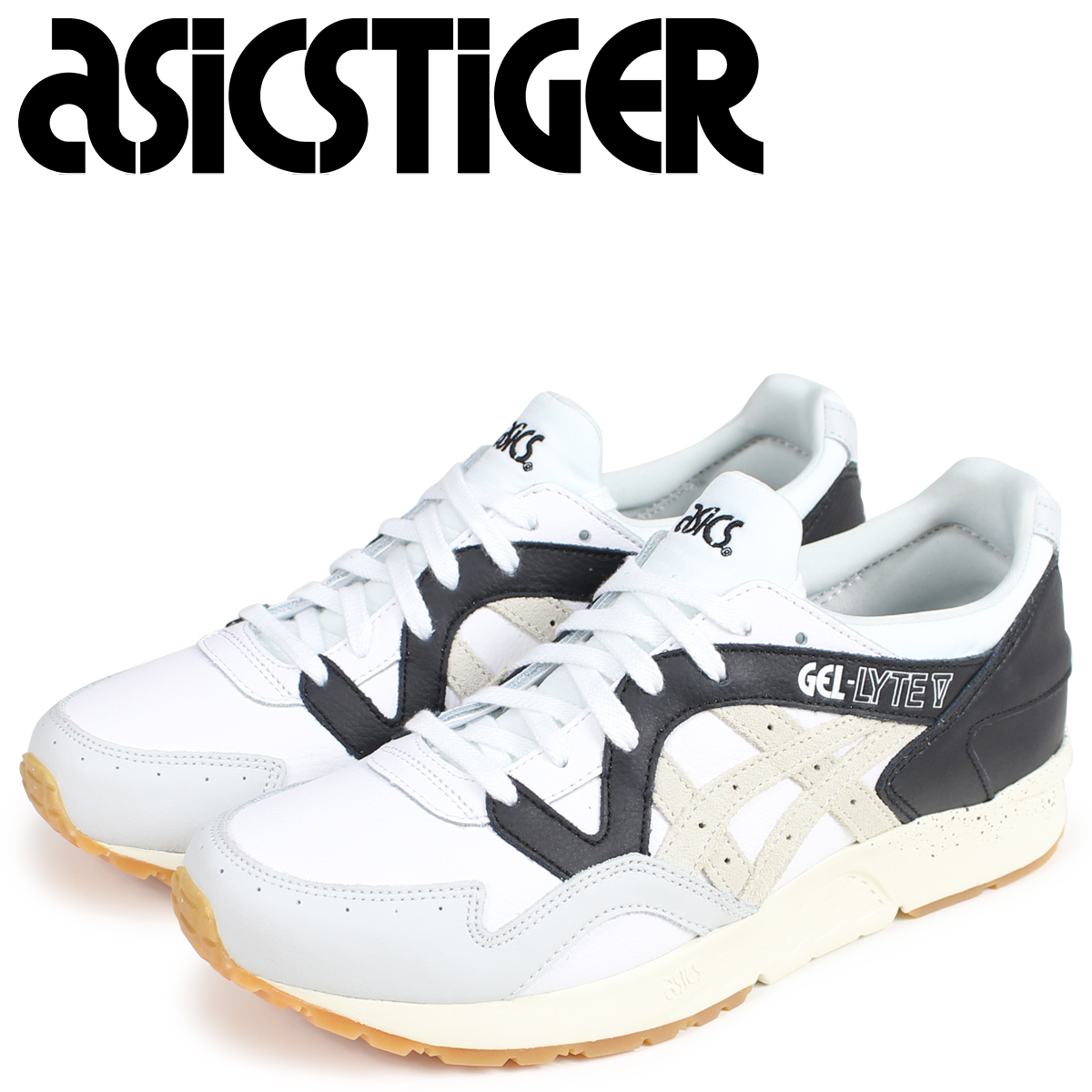 pretty nice 772a9 5ebb0 asics Tiger ASICS tiger gel light 5 sneakers GEL-LYTE V 1193A023-100 men  white white