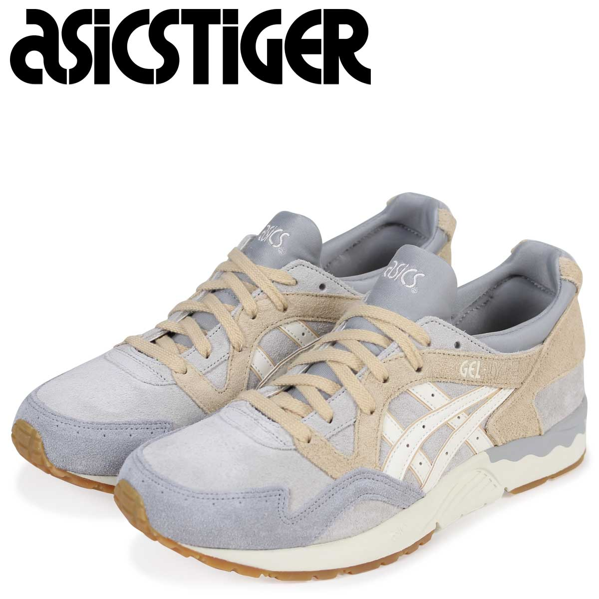 super popular 17711 cd6a9 asics Tiger ASICS tiger gel light sneakers GEL-LYTE V H833L-9600 men gray