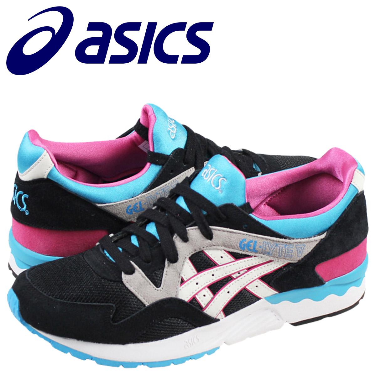 newest 380ad 6e115 asics ASICS gel light 5 sneakers GEL-LYTE 5 TH508L-9001 men shoes black  black