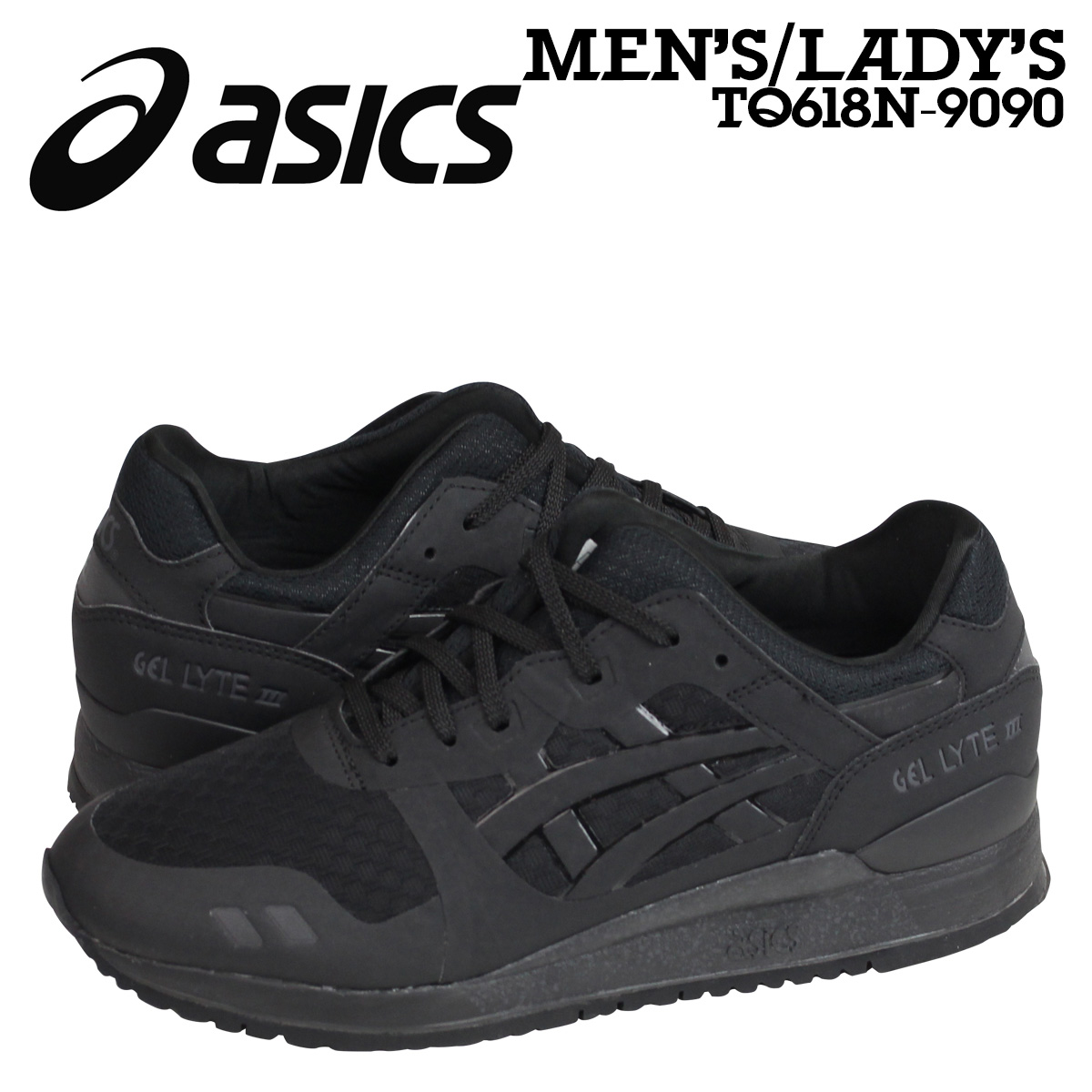 asics black shoes womens