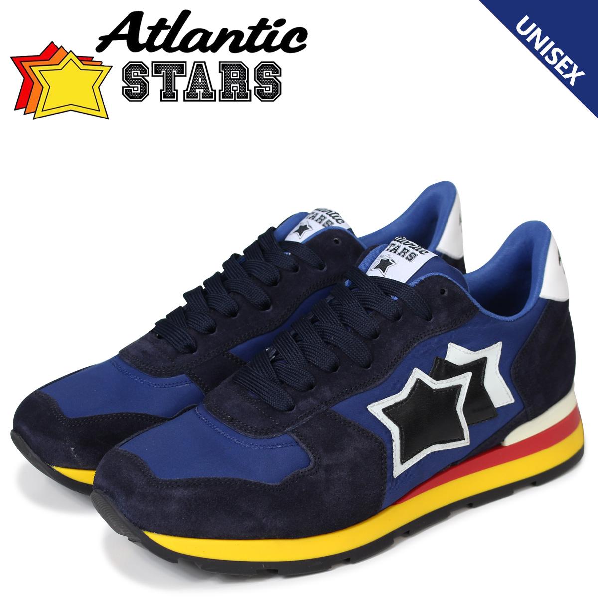Atlantic STARS メンズ スニーカー アトランティックスターズ アンタレス ANTARES AAB-89B ブルー