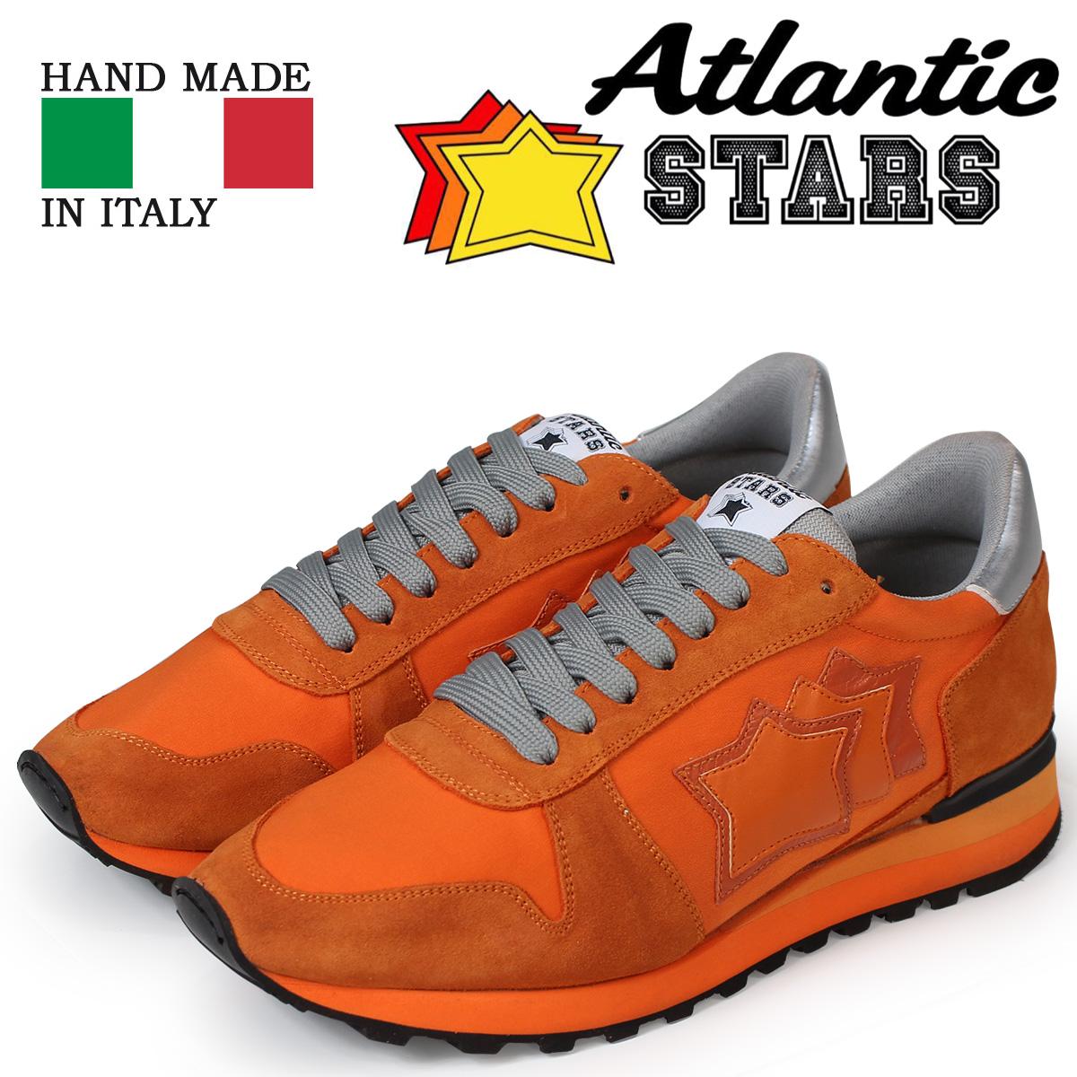 Atlantic STARS メンズ スニーカー アトランティックスターズ アルゴ ARGO AA-NY-NAAN オレンジ 【決算セール 返品不可】