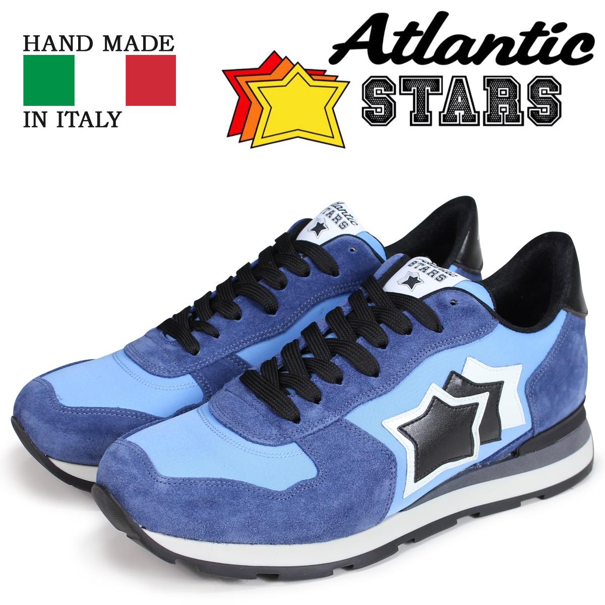 Atlantic STARS メンズ スニーカー アトランティックスターズ アンタレス ANTARES AAZ-81N ブルー