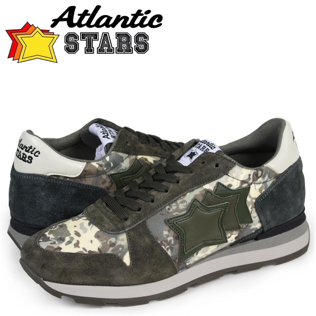 Atlantic STARS メンズ スニーカー アトランティックスターズ シリウス SIRIUS ABJ-64N 靴 カーキ