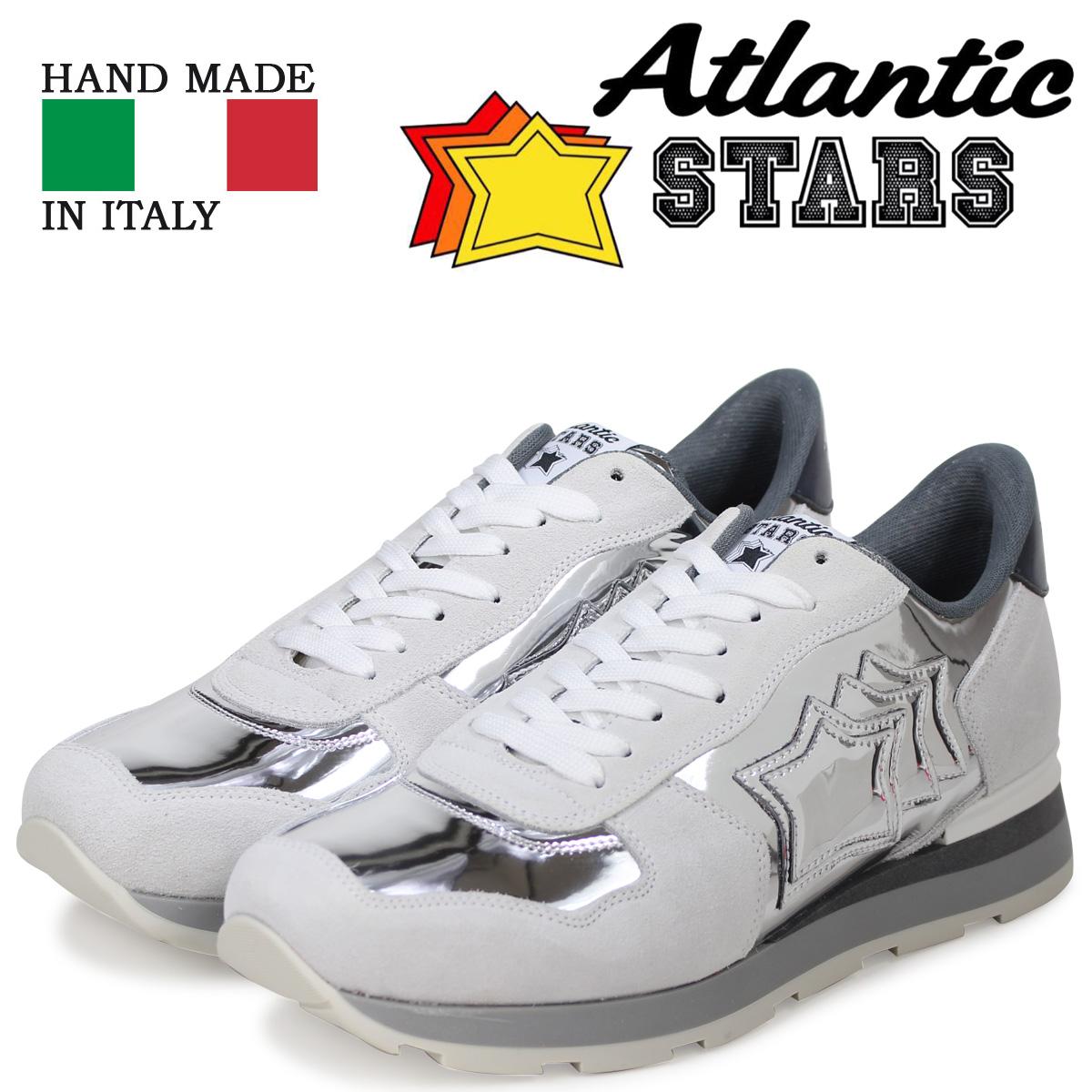 Atlantic STARS メンズ スニーカー アトランティックスターズ アンタレス ANTARES AC-63B シルバー