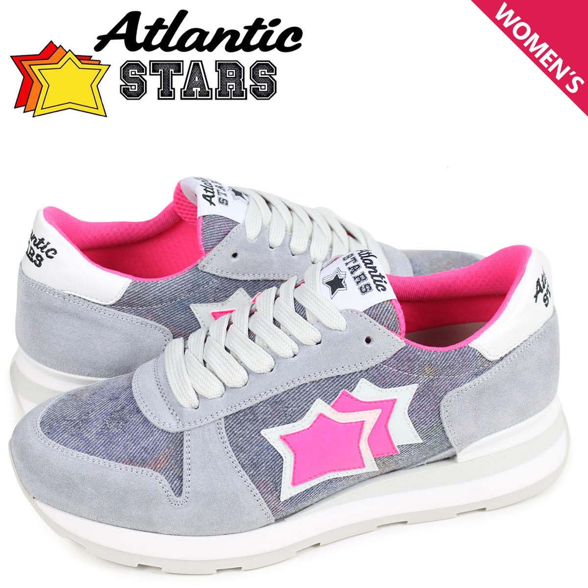 最新作 Atlantic STARS レディース スニーカー アトランティックスターズ ジェンマ GEMMA レディース STARS スニーカー AJF-86B グレー, 日本のあかり simple lights store:288780a7 --- clftranspo.dominiotemporario.com