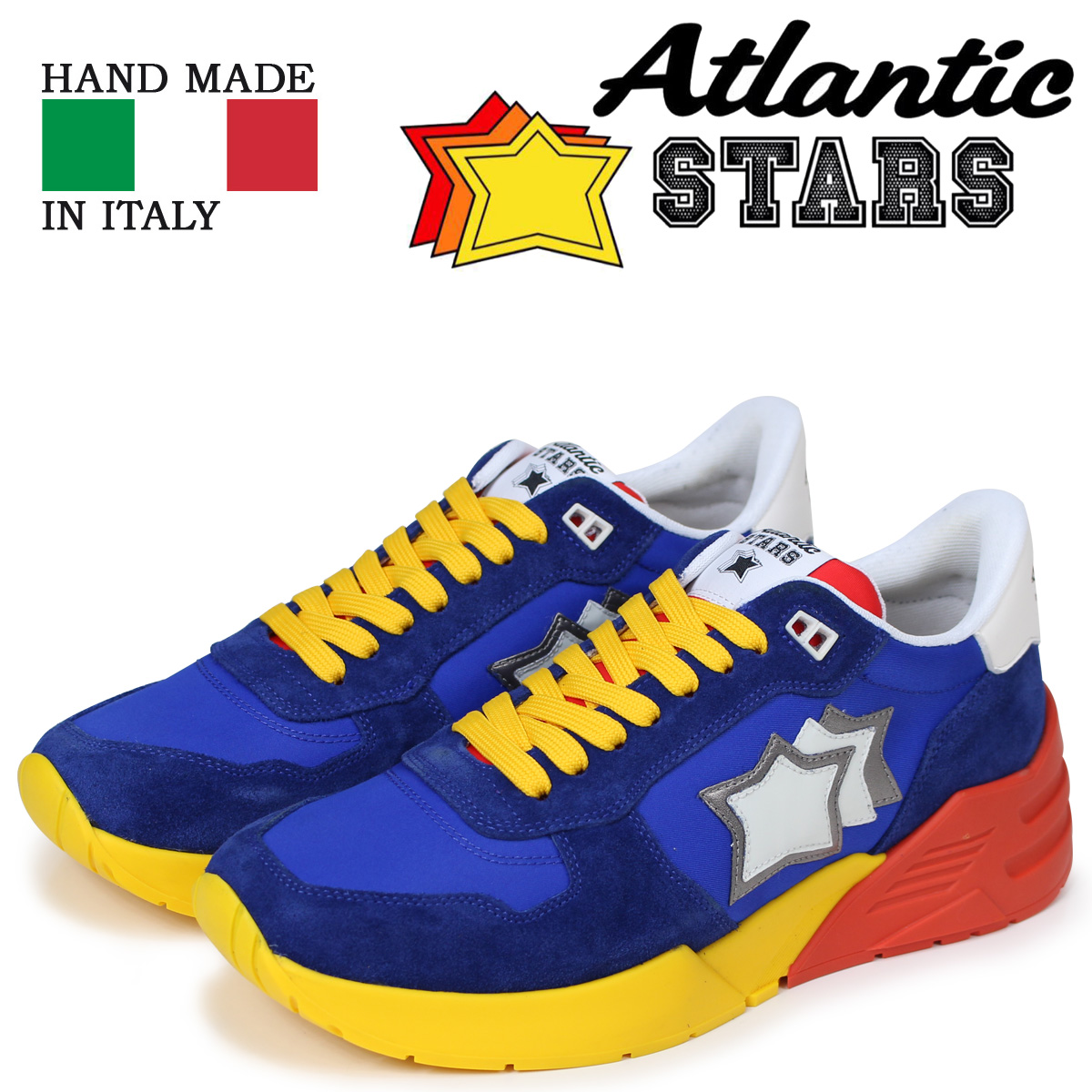 Atlantic STARS メンズ スニーカー アトランティックスターズ マーズ MARS AM-SN07 ブルー
