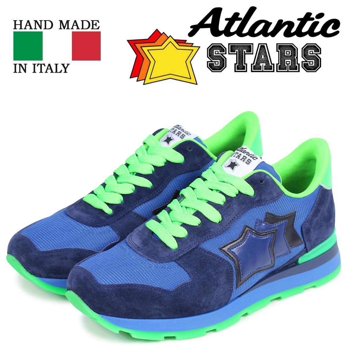 【期間限定】 Atlantic STARS アトランティックスターズ メンズ ANTARES スニーカー アンタレス Atlantic スニーカー ANTARES AM38VF ブルー, HOPPE:5901aefe --- canoncity.azurewebsites.net