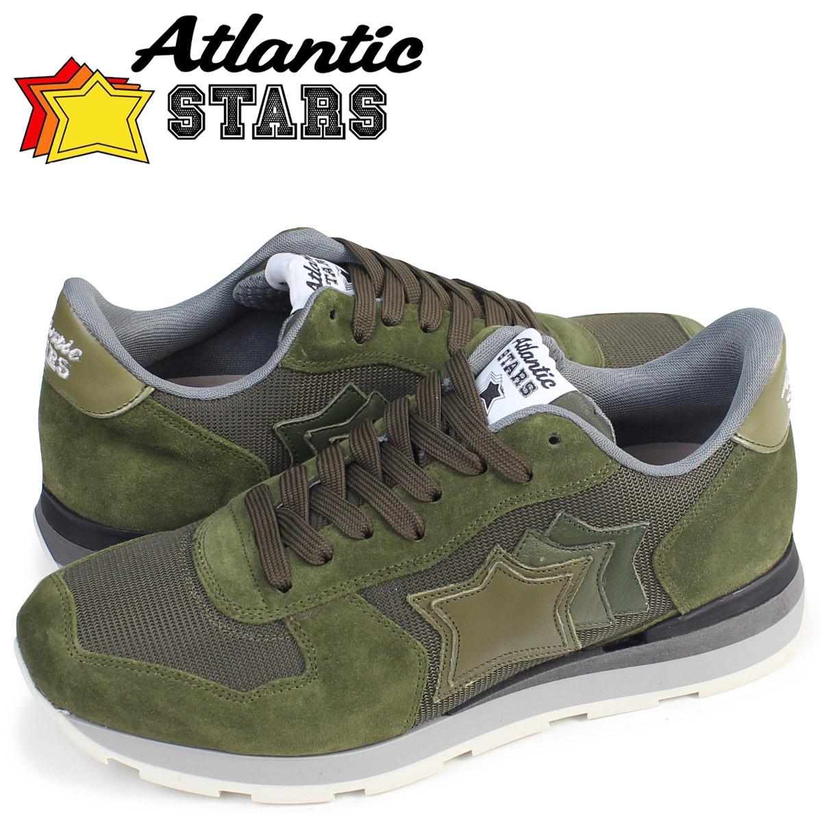 Atlantic STARS メンズ スニーカー アトランティックスターズ アンタレス ANTARES AMM 63N 靴 グリーン
