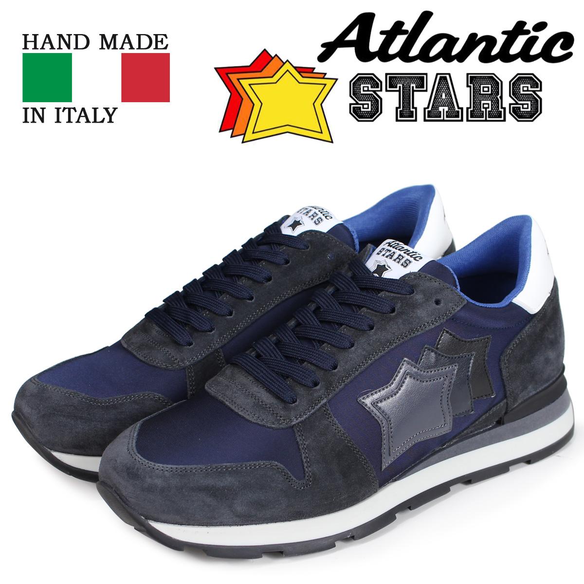 Atlantic STARS メンズ スニーカー アトランティックスターズ シリウス SIRIUS AN-81N ネイビー
