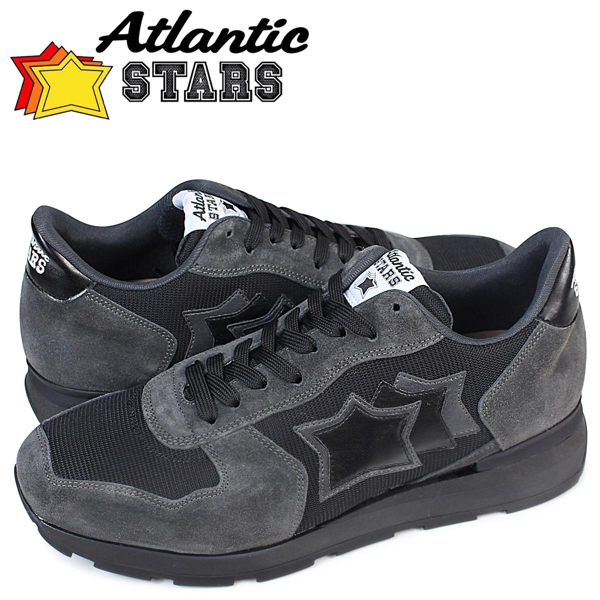 Atlantic STARS メンズ スニーカー アトランティックスターズ アンタレス ANTARES ANA 72N 靴 ダークグレー 【決算セール 返品不可】