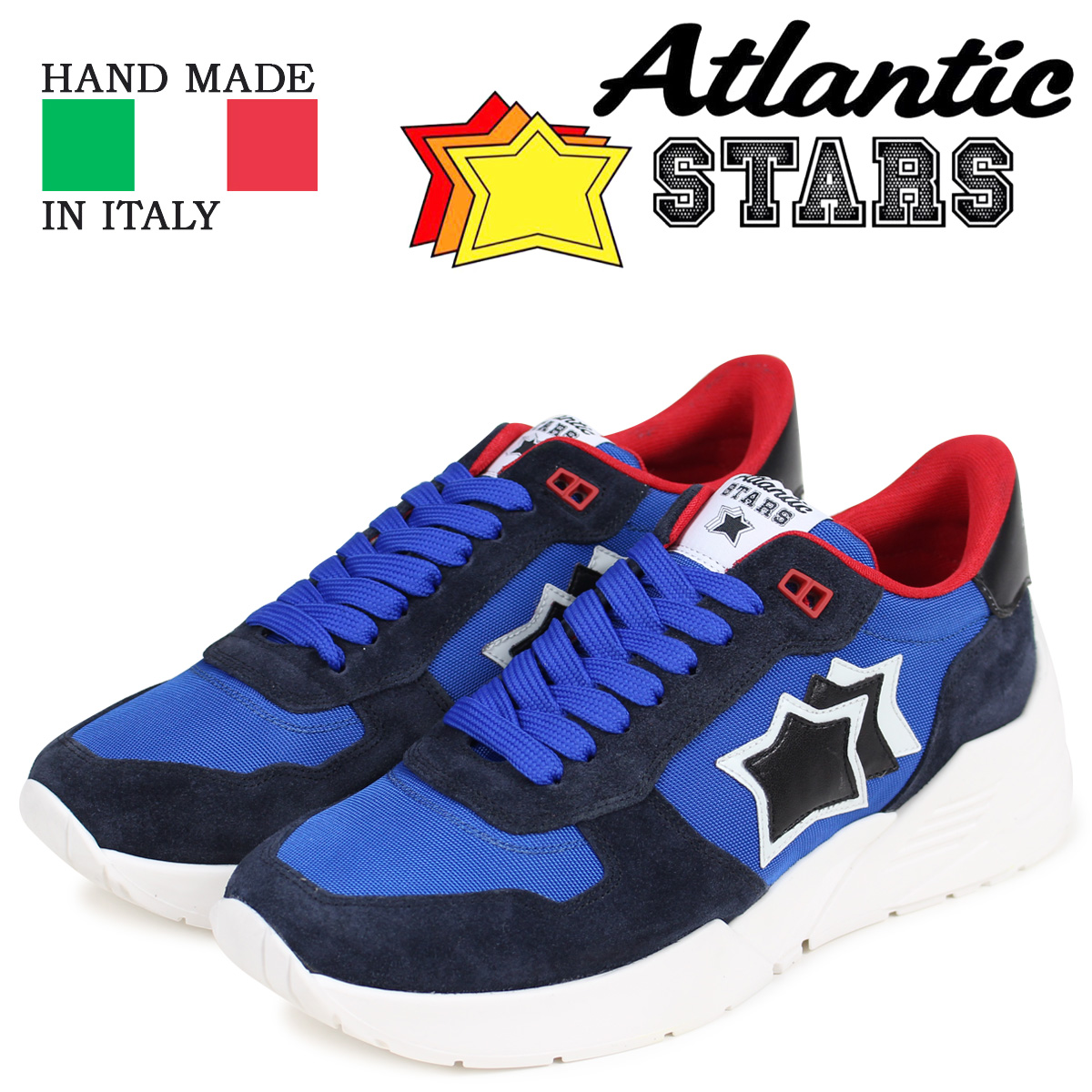 Atlantic STARS アトランティックスターズ メンズ スニーカー マーズ MARS AN-SN12 ブルー