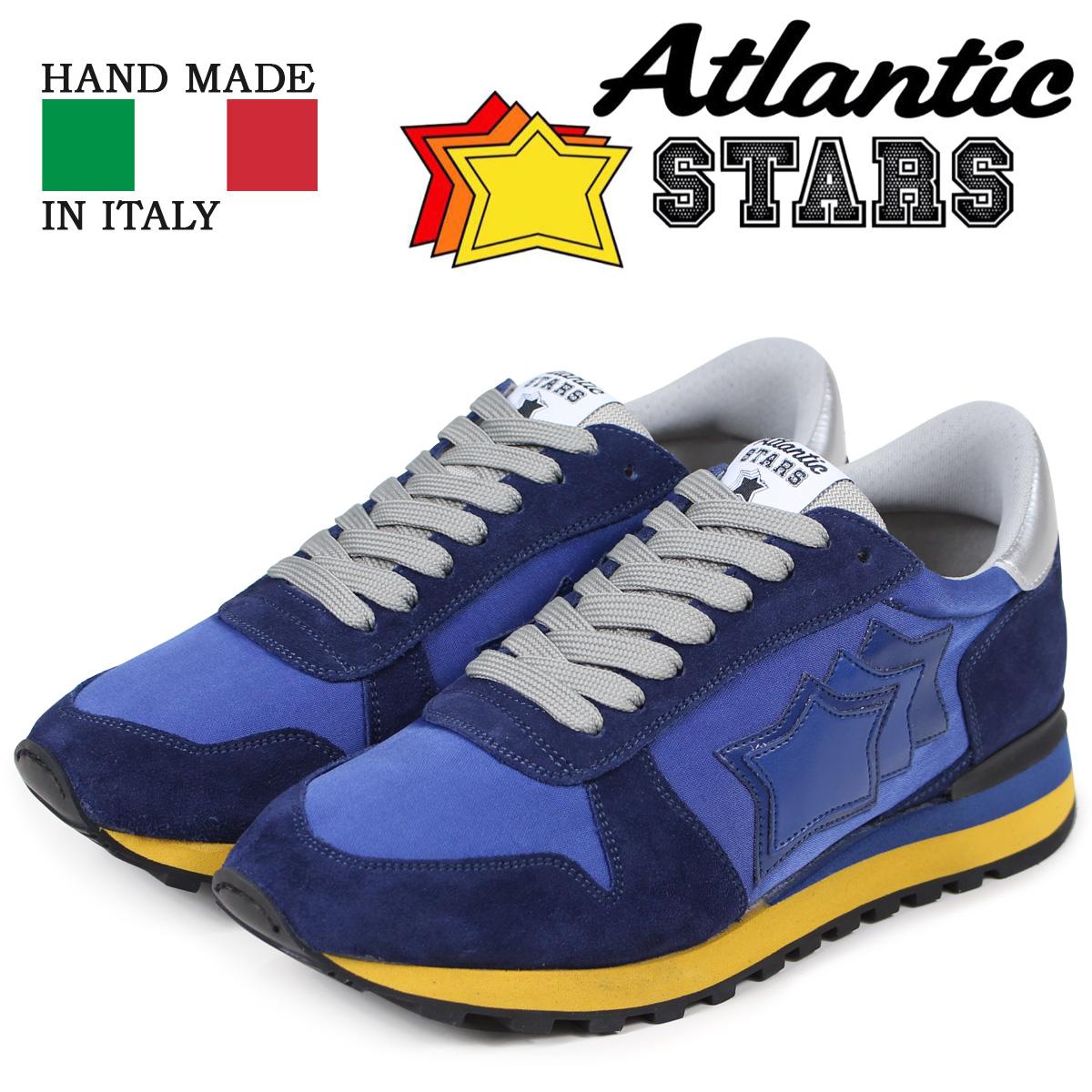 【正規品質保証】 Atlantic STARS メンズ スニーカー Atlantic アトランティックスターズ アルゴ スニーカー ARGO メンズ ATNYNGBN ブルー, 津名郡:08436a99 --- fabricadecultura.org.br