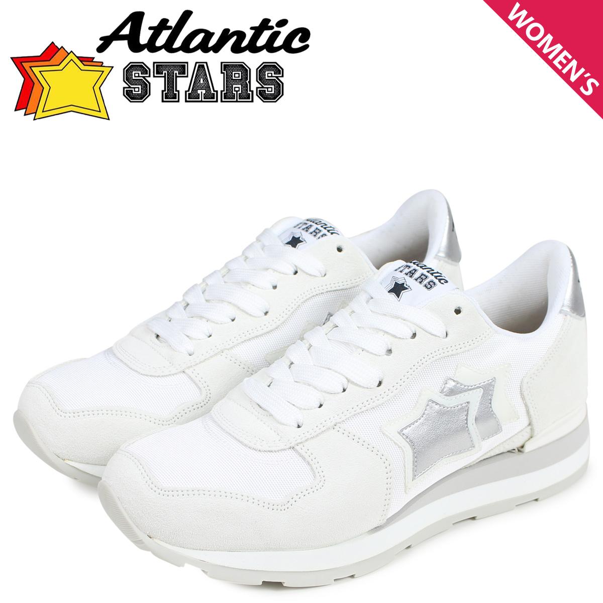 Atlantic STARS アトランティックスターズ ベガ スニーカー レディース VEGA ホワイト 白 BA-86B [予約商品 4/5頃入荷予定 新入荷]