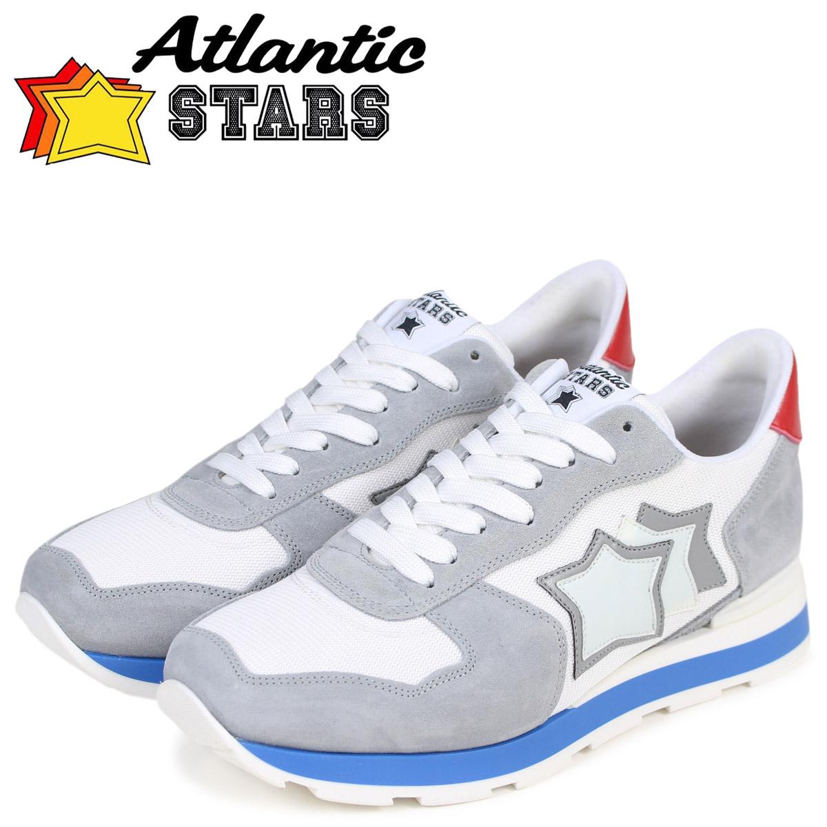 Atlantic STARS メンズ スニーカー アトランティックスターズ アンタレス ANTARES BAB-34B ライトグレー