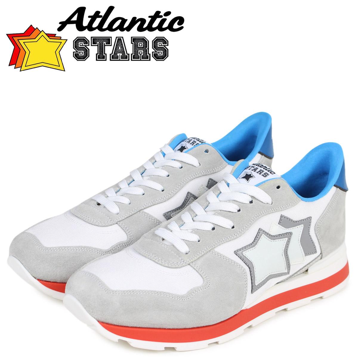 Atlantic STARS メンズ スニーカー アトランティックスターズ アンタレス ANTARES BBI-35B ライトグレー