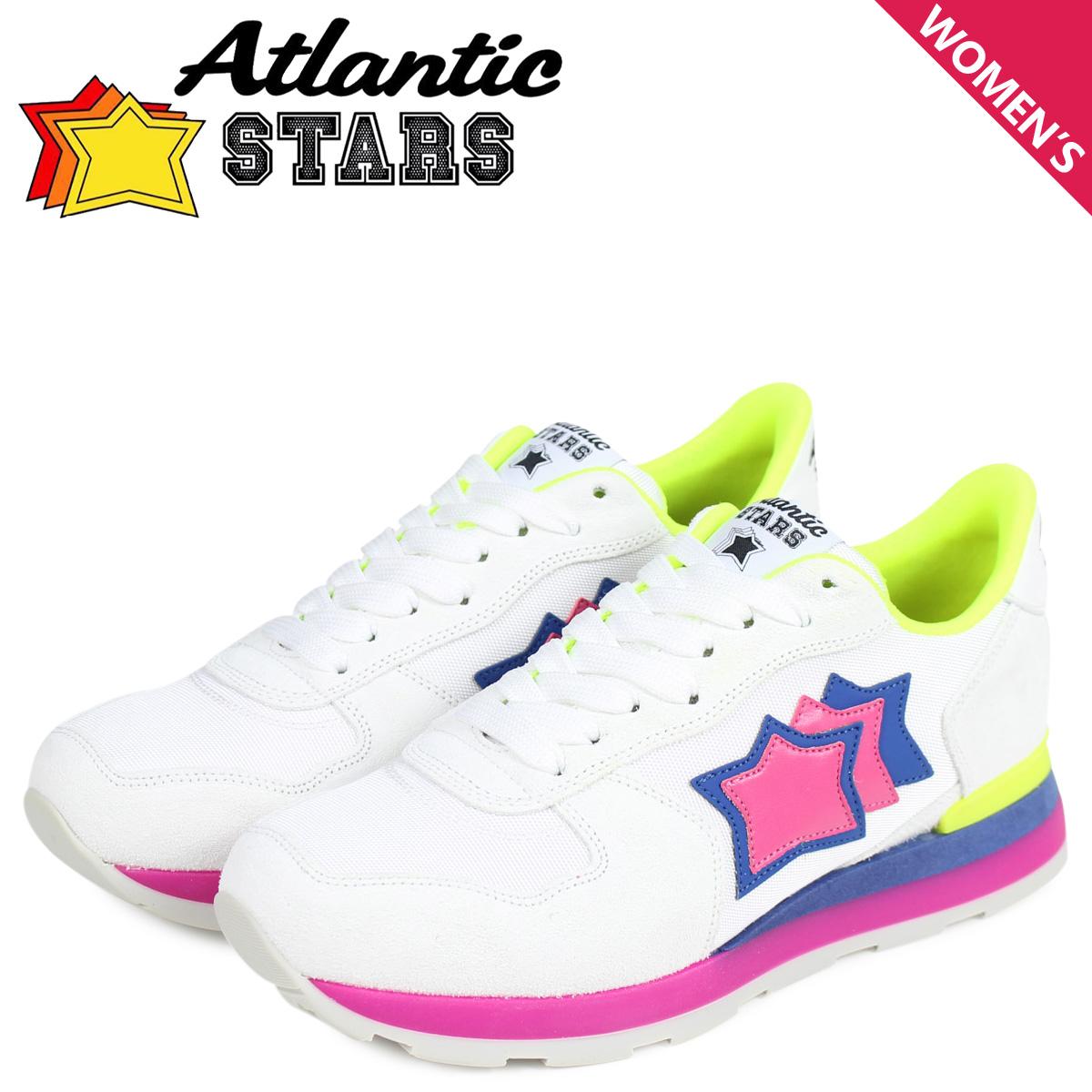 Atlantic STARS レディース スニーカー アトランティックスターズ ベガ VEGA BGF-62GF ホワイト