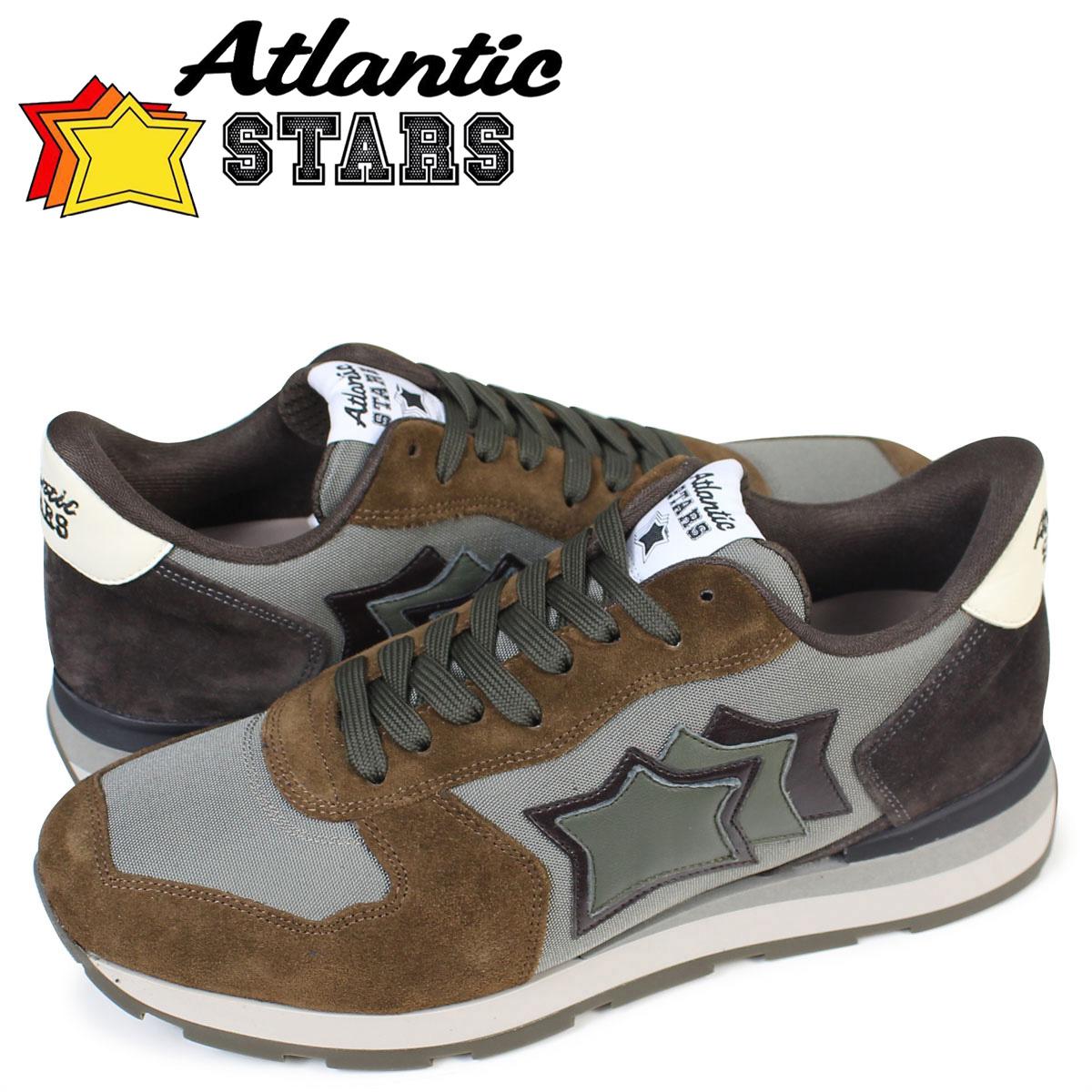 Atlantic STARS メンズ スニーカー アトランティックスターズ アンタレス ANTARES BMM 64N 靴 ブラウン