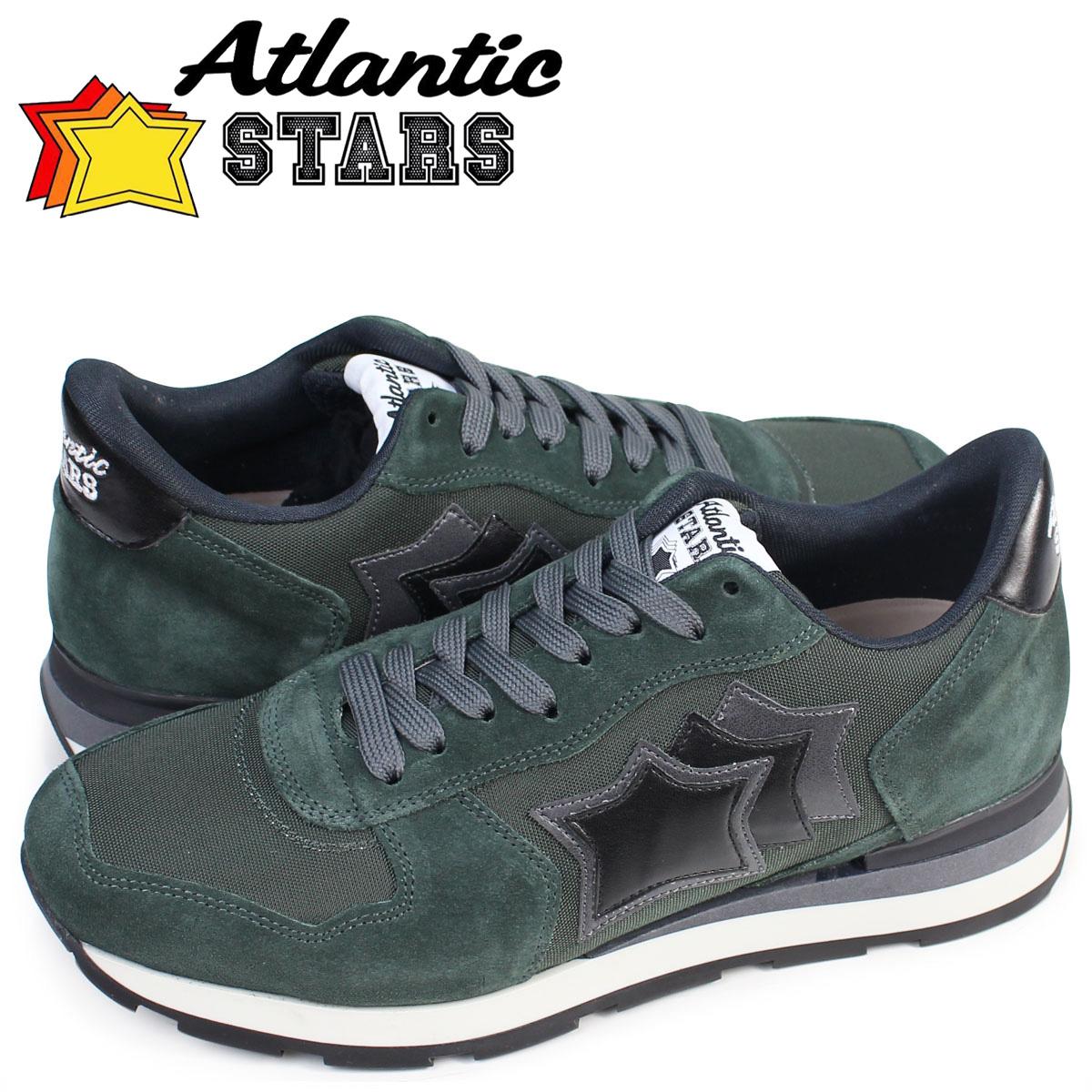 Atlantic STARS メンズ スニーカー アトランティックスターズ アンタレス ANTARES BOB 81N 靴 グリーン