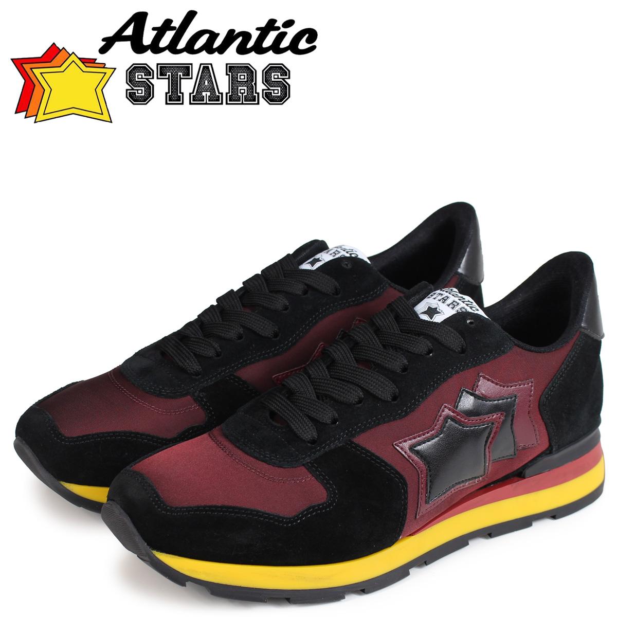 Atlantic STARS メンズ スニーカー アトランティックスターズ アンタレス ANTARES BON-02N ブラック 黒